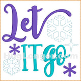 Let it Go TP HL2398 embroidery files