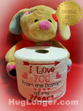 I Love You From the Bottom of my Heart TP HL2479 embroidery files