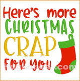 More Christmas Crap TP HL2394 embroidery file