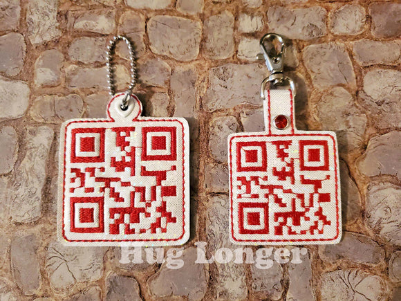 ITH QR Code- I Love You- Fobs HL5710