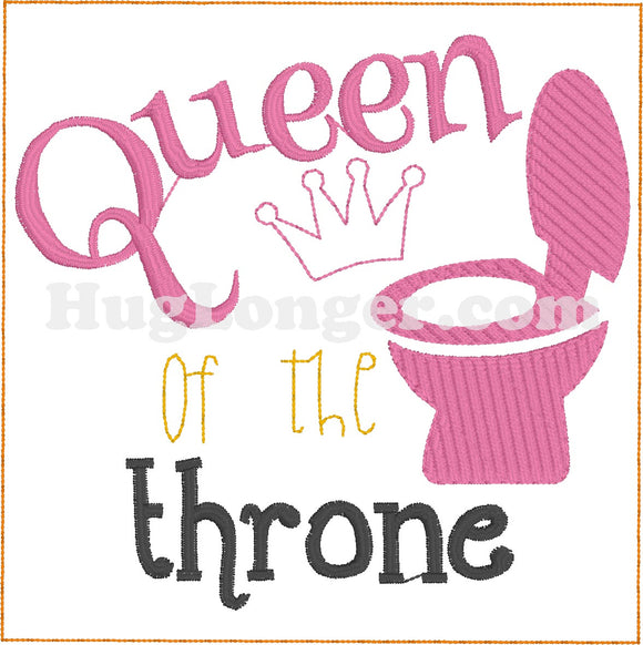 Queen of the Throne TP HL2193 embroidery file