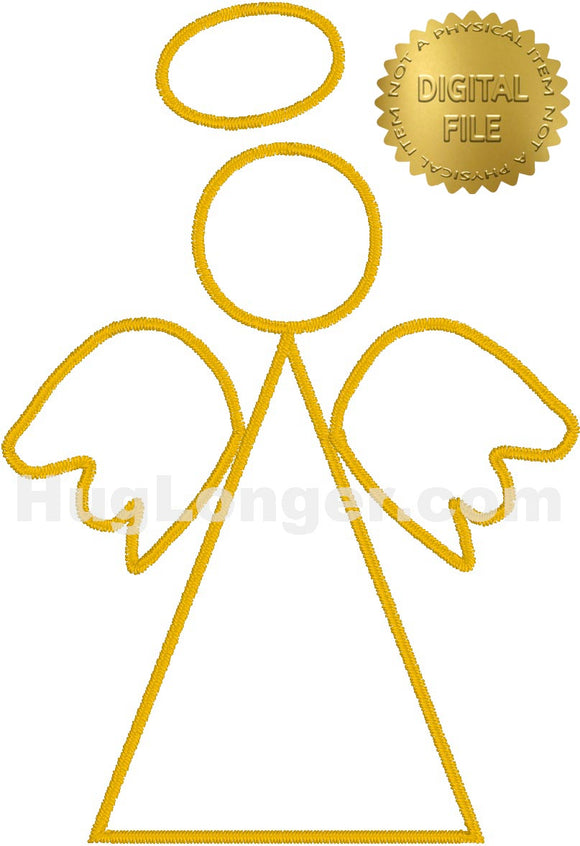 Satin Angel Small HL2395 embroidery file