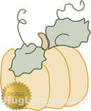 Sketchy Pumpkin HL2372 embroidery file