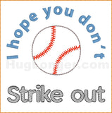 Strike Out TP HL2404 embroidery file