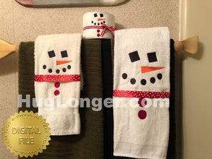 Frosty TP and Towel Designs HL2368 embroidery files