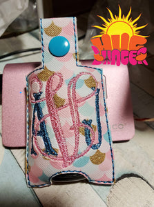 ITH Blank Sanitizer Holder HL5761 embroidery file