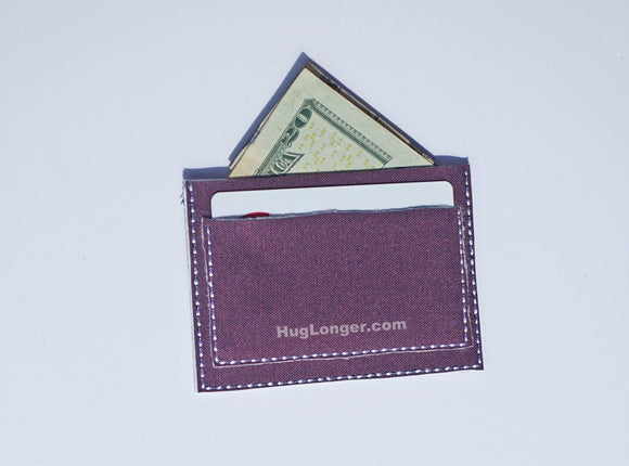 ITH Flat Wallet embroidery file HL1047 student wallet gift card holder