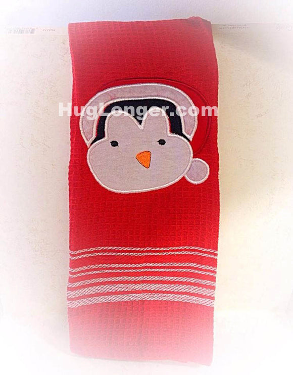 Appliqué Baby Penguin Embroidery Files HL1050 Christmas