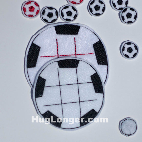 ITH Soccer Tic Tac Toe game HL1041 Sports Volleyball boardgames favor