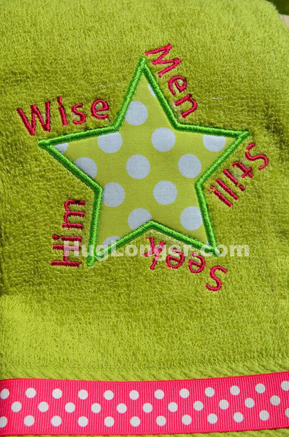 Wise Men Applique and Embroidery file HL1052