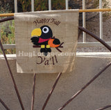 Applique Fall Crow embroidery file HL1056 Halloween Thanksgiving