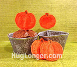 ITH Cupcake Sleeves and Fall Toppers embroidery file HL1078 Christmas, Halloween Thanksgiving Party