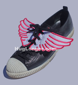 ITH Shoe Wings- child and adult- embroidery file HL1087