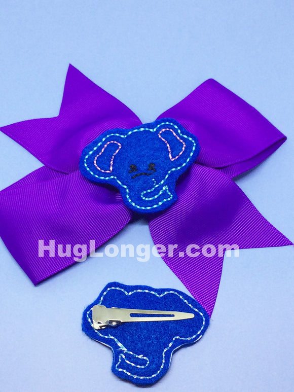 ITH Elephant Felties HL2026 embroidery file