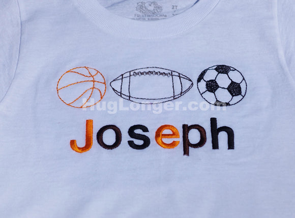 Bean Stitch Sports Balls HL2033 embroidery files