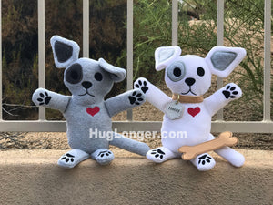 ITH Henry Dog Stuffie HL2055 embroidery file