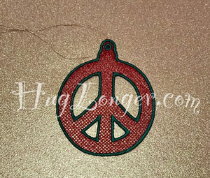 FSL Peace Ornament HL2083 embroidery file Free standing lace