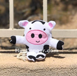 ITH Dandelion The Cow Stuffie HL2061 embroidery file