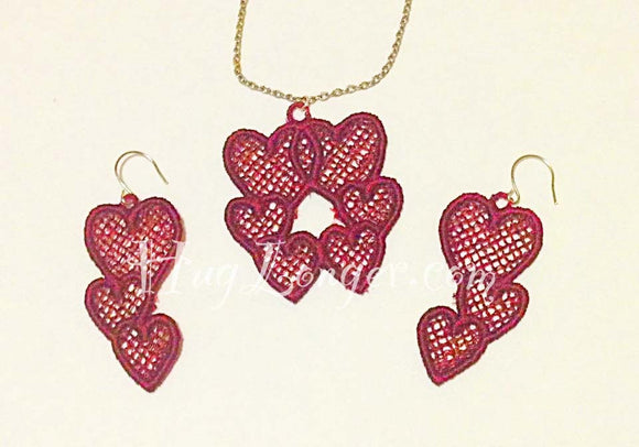 FSL Heart Jewelry HL2134 embroidery file