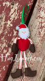 ITH Candy Cane Santa HL2097 embroidery file