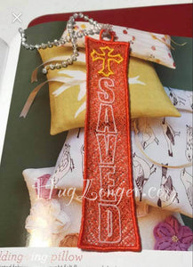 FSL Saved Bookmark HL2165 embroidery file