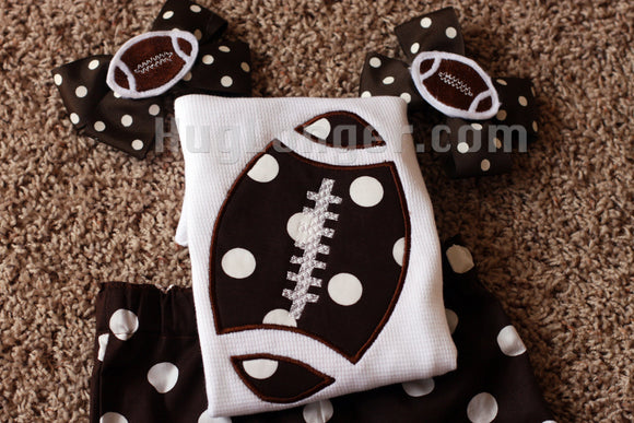 Football Felties and Clippie Covers Digital Embroidery Files