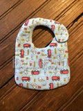 In The Hoop Quilted Baby Bib Digital File for Embroidery Machines