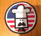 Cooking American Style Applique or Patch