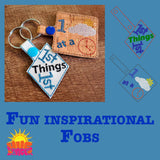 HL ITH Inspirational Fobs HL6004 (two designs)