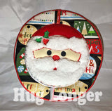 ITH Santa Placemat HL5688 embroidery files