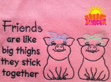 Big Thighs Friends HL5757 embroidery file