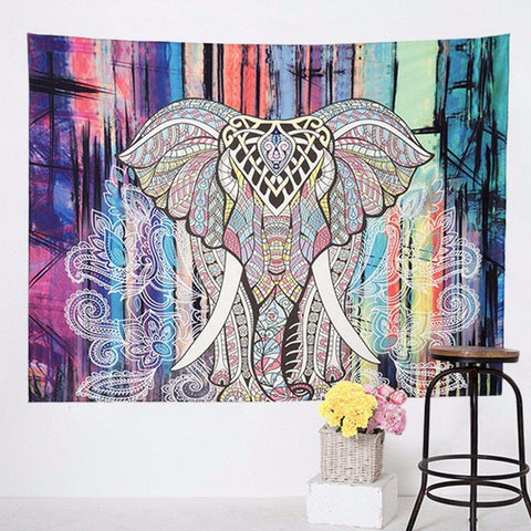 Elephant Series Wall Tapestry
