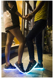 LED Skull Frenzy Shoes