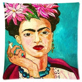 Frida Kahlo Self Portrait Cushion Cover