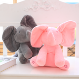 Peek-a-boo Elephant Plush Toy
