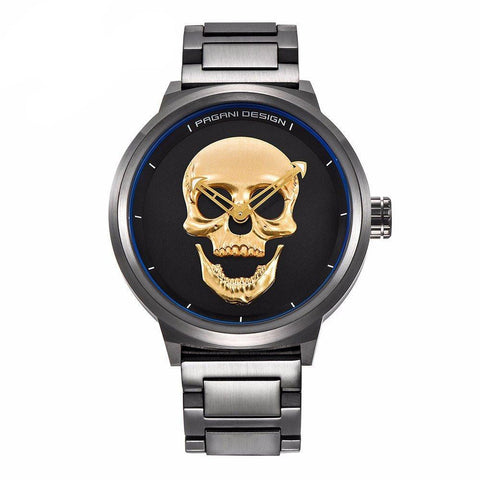 Luxury Pirate Skull Watch