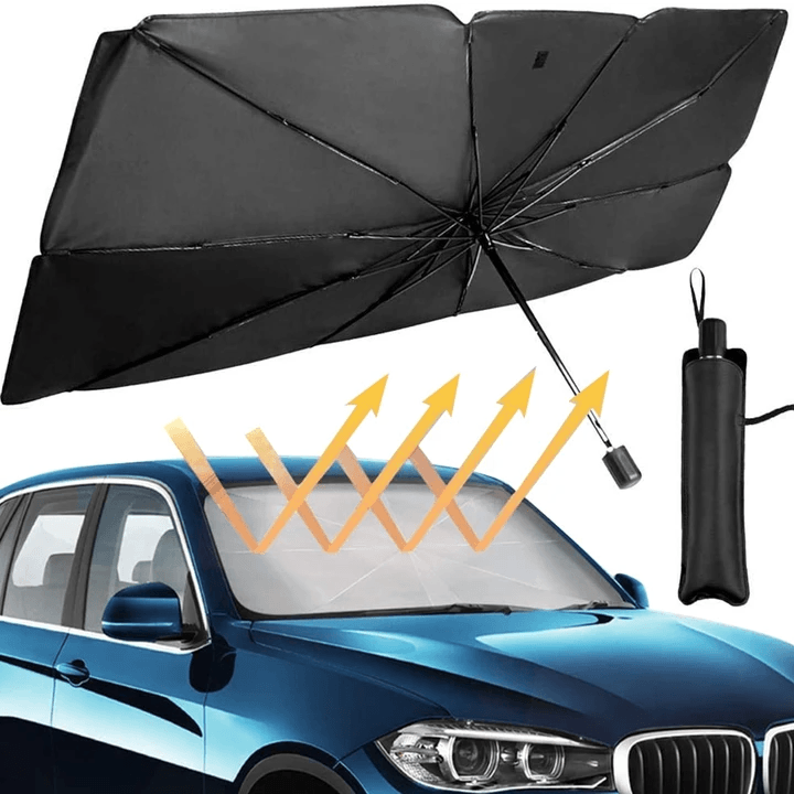 (Last day promotion-55% OFF) Foldable Car Sunshade Umbrella