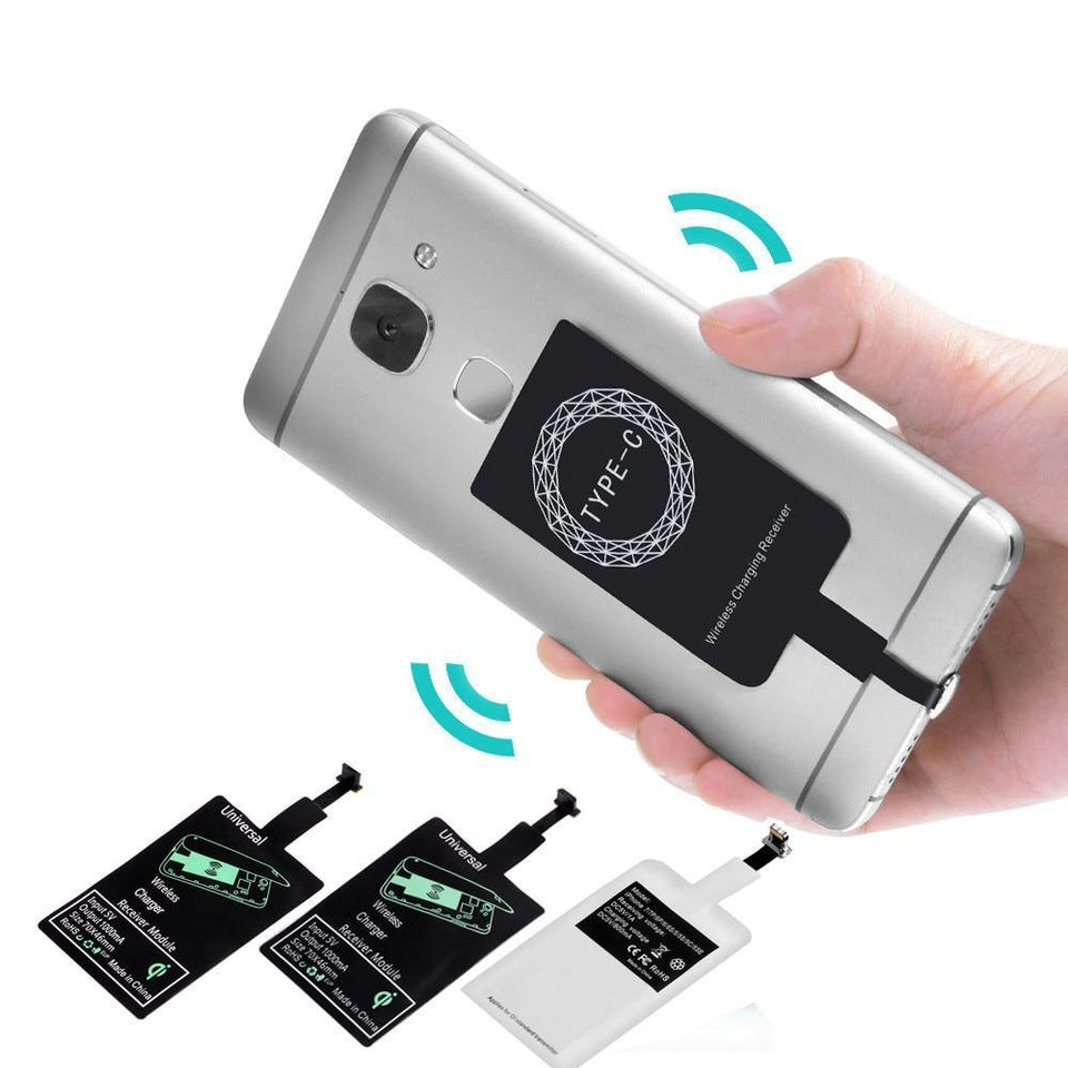Qi Wireless Charger Adapter Receiver