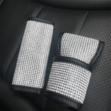 Handbrake Covers + Shift Gear Cover + Seat Belt Cover