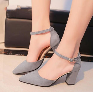 DAC™ Flock Pointed High Heels