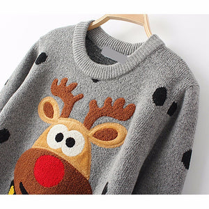 Ugly Reindeer Christmas Sweater