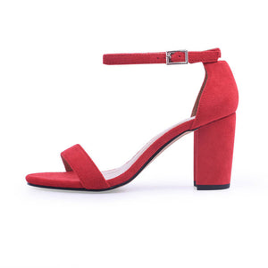 GENSHUO™ Ankle Strap High Heels