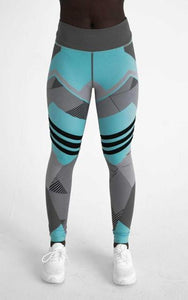 Geometric Fitness Legging