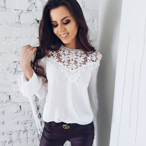 2018 New Fashion Lace Tops