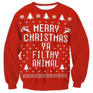 Ugly Filthy Animal Christmas Sweater