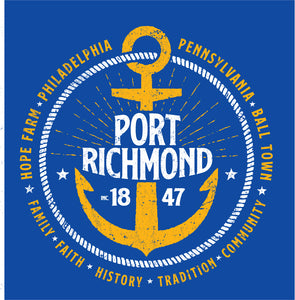Port Richmond Tee--Pre Order
