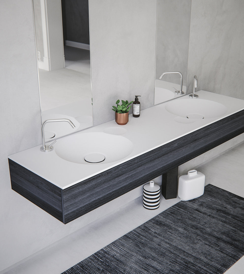 EROSION dual built-in sink