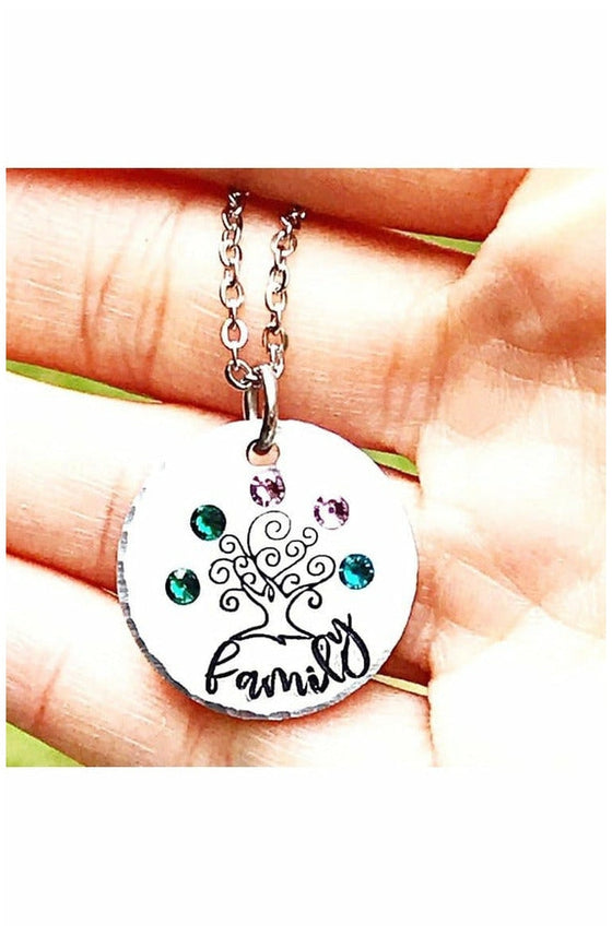 Family Tree Necklace (4739786178649)