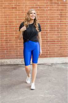 Bermuda Leggings | Royal Blue (4724291272793)