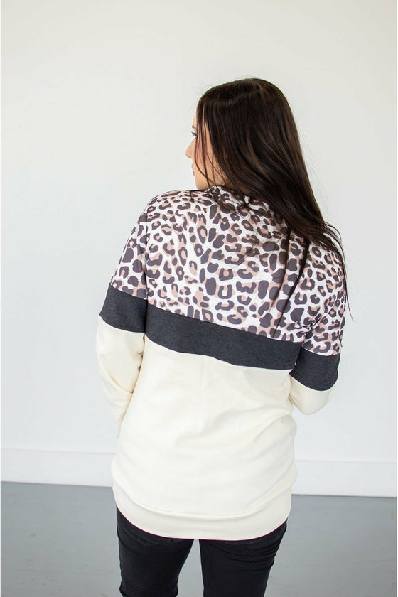 Leopard Crew Neck (Ready to Ship)